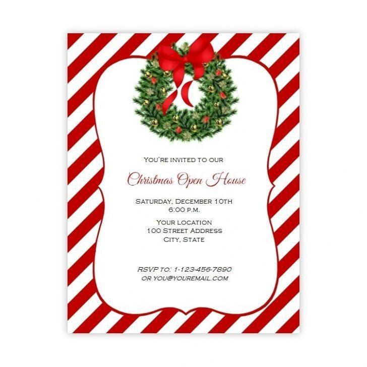 Free Printable Christmas Flyer Templates Word