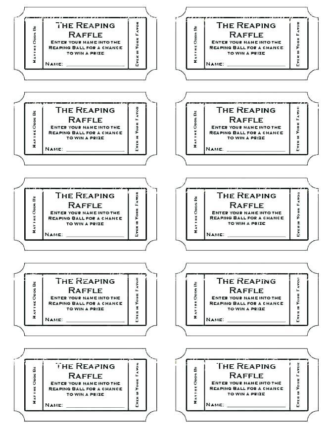 Free Printable Circus Ticket Template