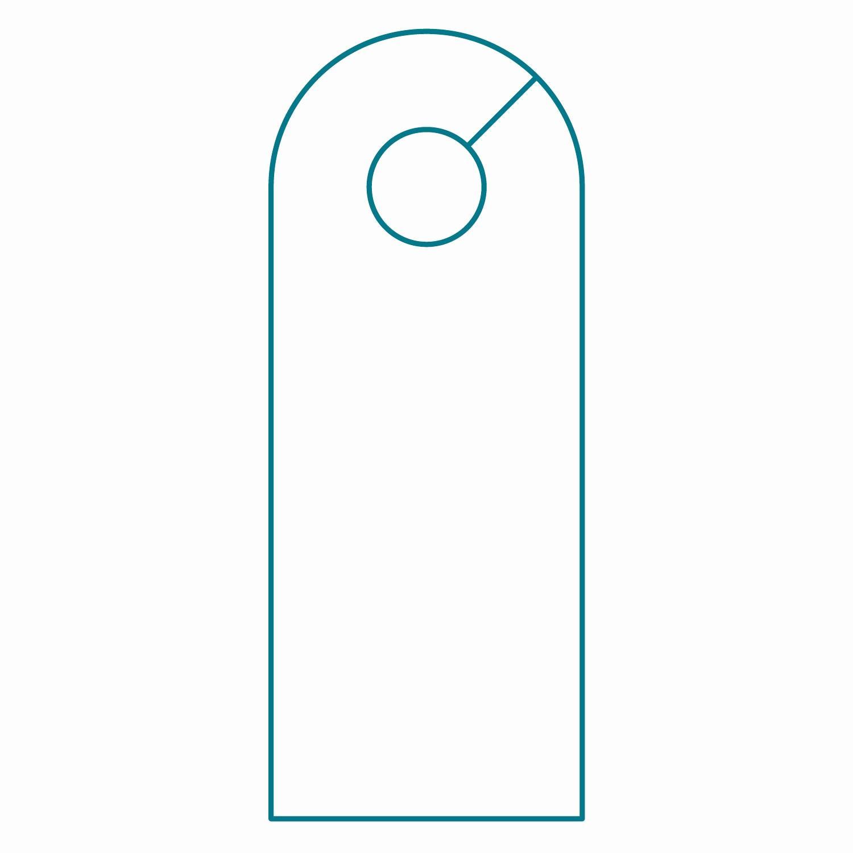 Free Printable Door Hanger Templates