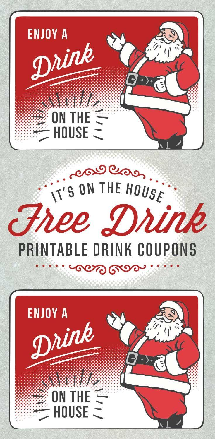 Free Printable Drink Ticket Template