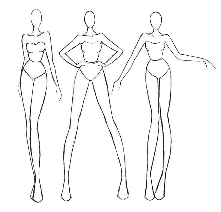 Free Printable Fashion Design Templates