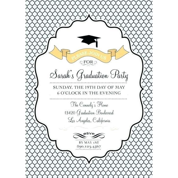 Free Printable Graduation Announcement Templates 2017