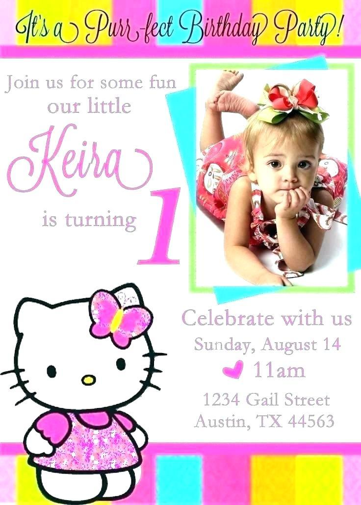 Free Printable Hello Kitty Birthday Invitation Templates