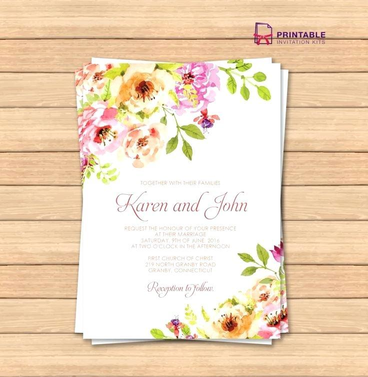 Free Printable Invitation Templates Uk