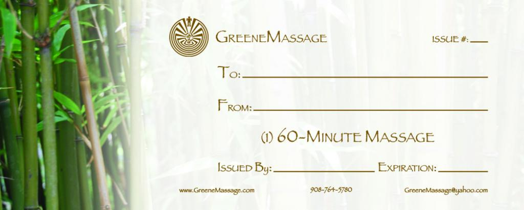 Free Printable Massage Gift Certificate Templates