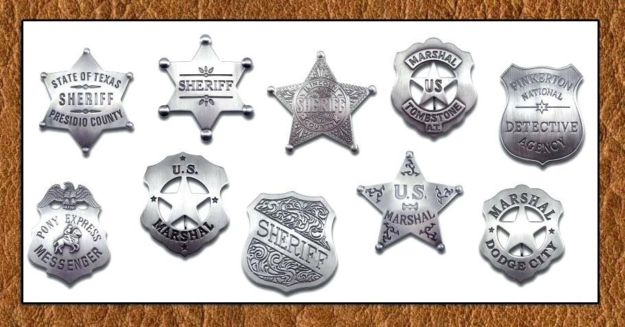 Free Printable Sheriff Badge Template
