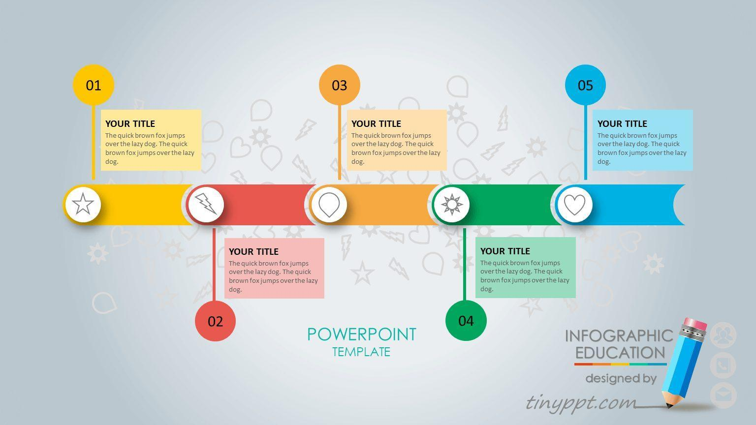 Free Process Flow Chart Template Powerpoint