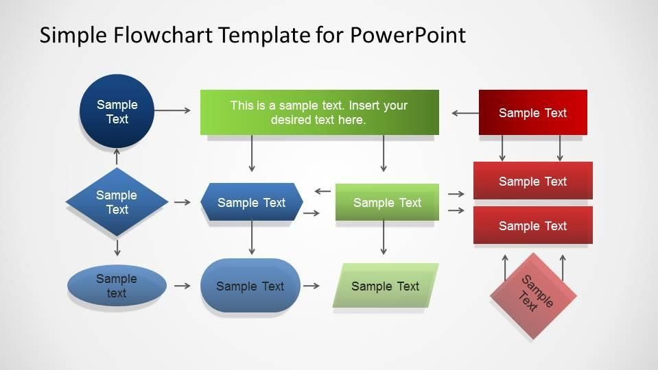 Free Process Flow Template Powerpoint