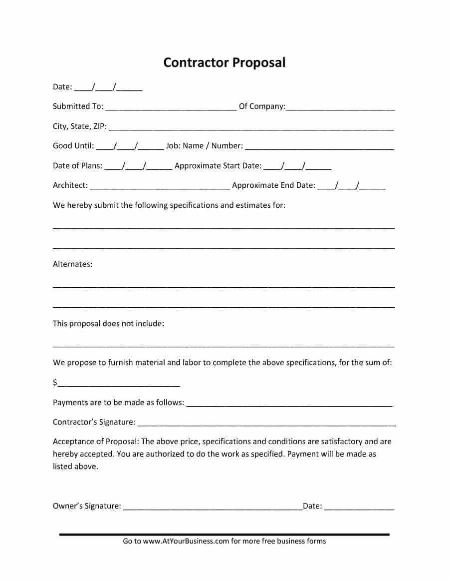 Free Professional Organizer Contract Template