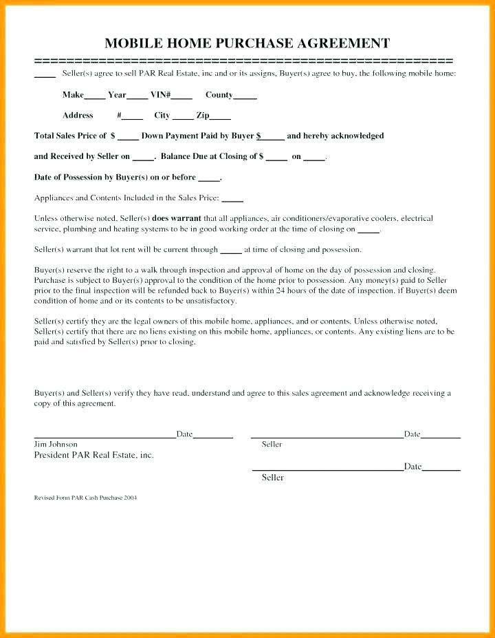 Free Property Sales Agreement Template