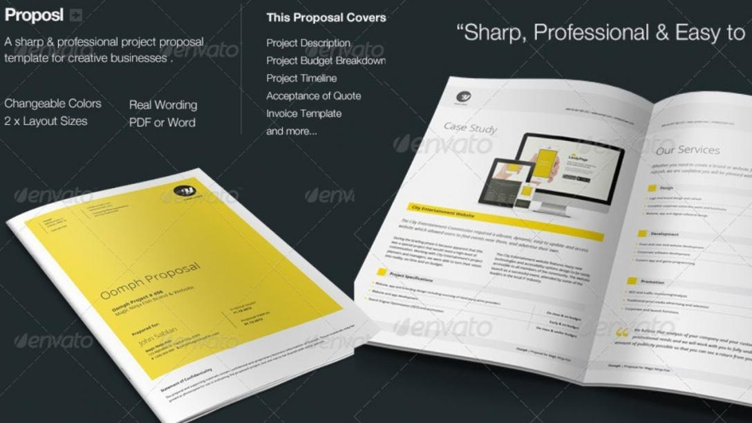 Free Proposal Template Download