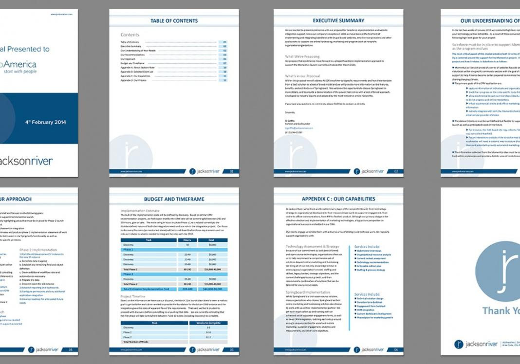 Free Proposal Template Microsoft Word