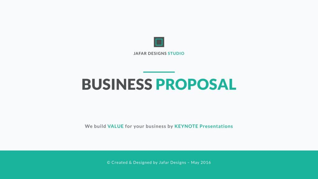 Free Proposal Template Ppt