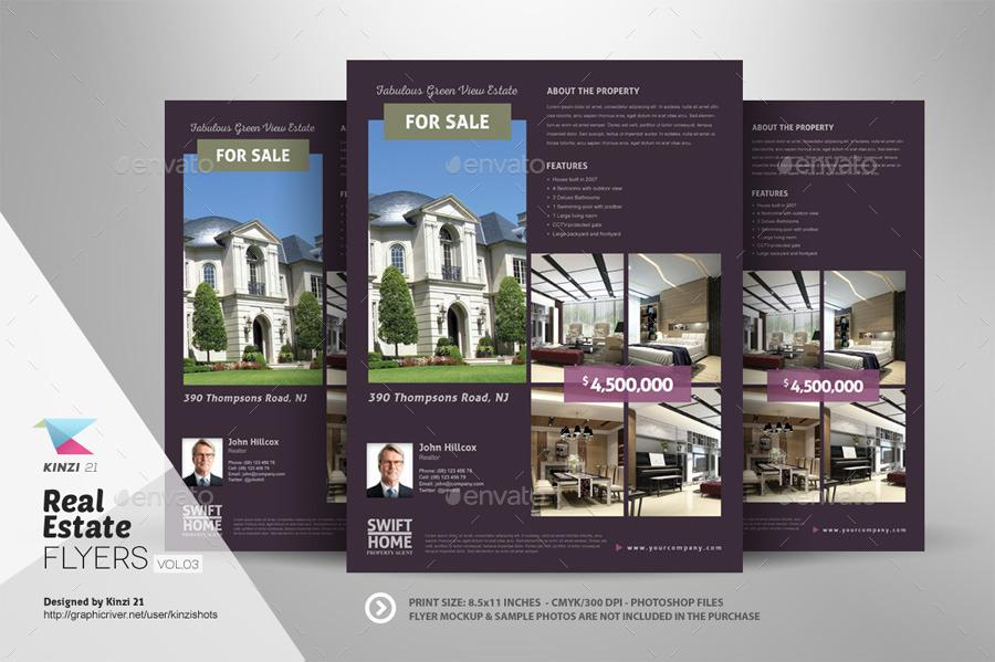 Free Real Estate Flyer Design Templates