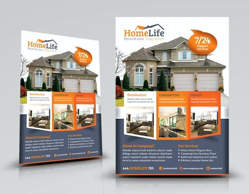 Free Real Estate Flyer Templates Pdf