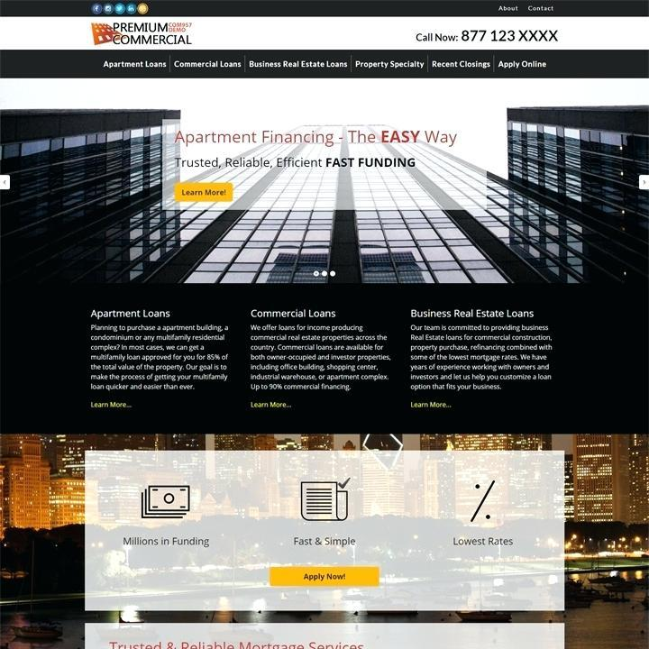 Free Real Estate Investor Website Templates