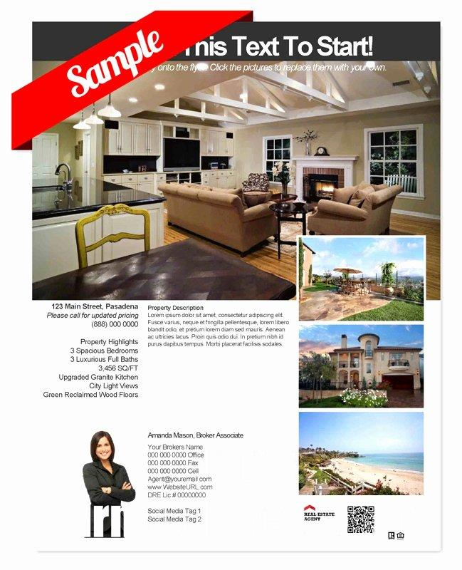 Free Real Estate Listing Flyer Templates
