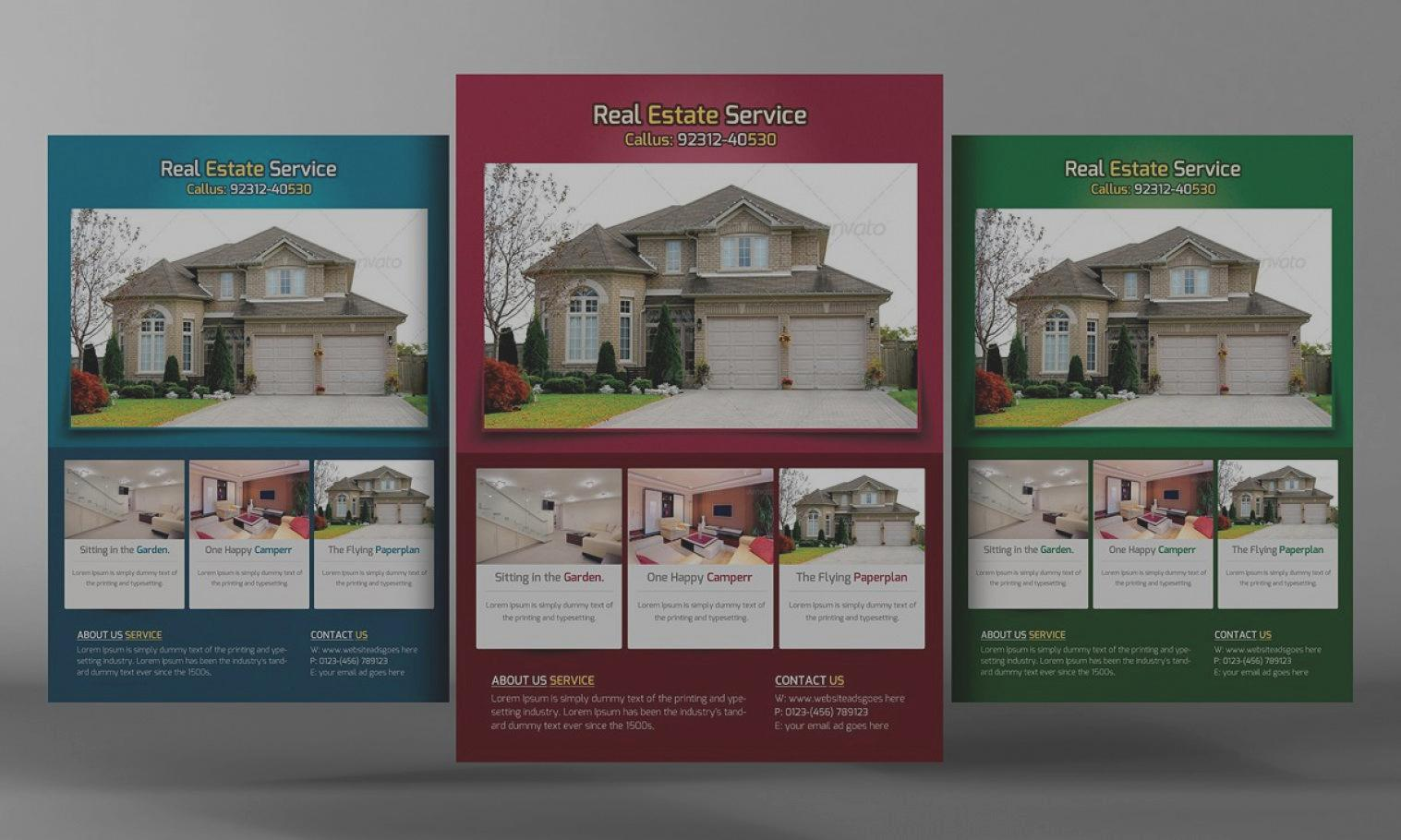 Free Real Estate Templates Flyers