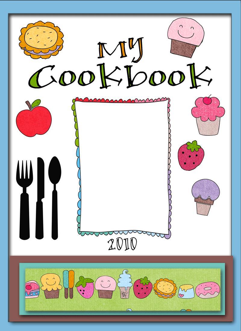 Free Recipe Book Cover Templates