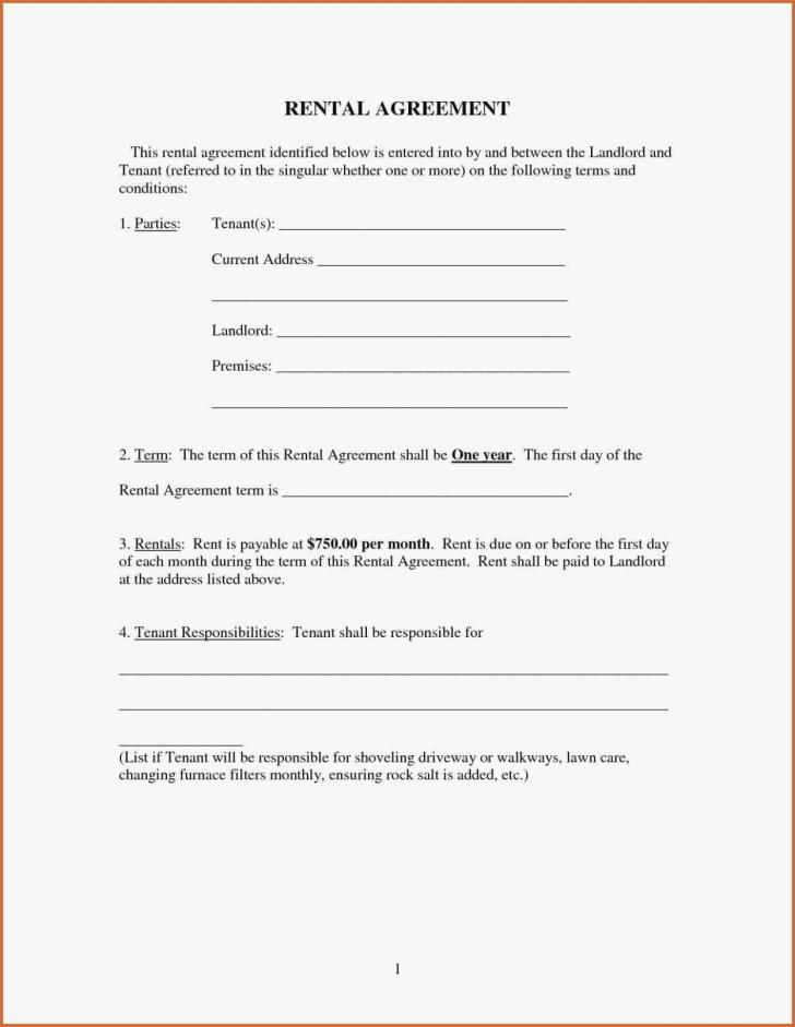 Free Rental Agreement Template Alabama