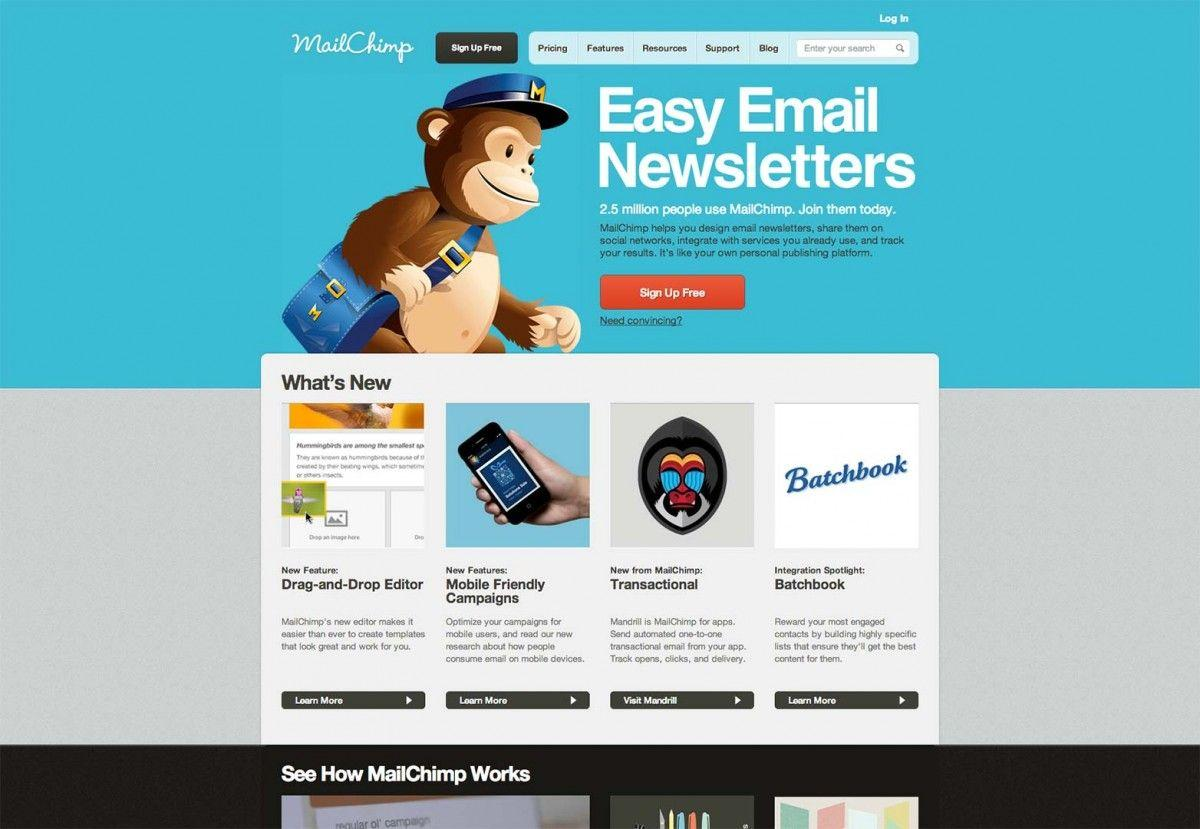 Free Responsive Email Templates Mailchimp