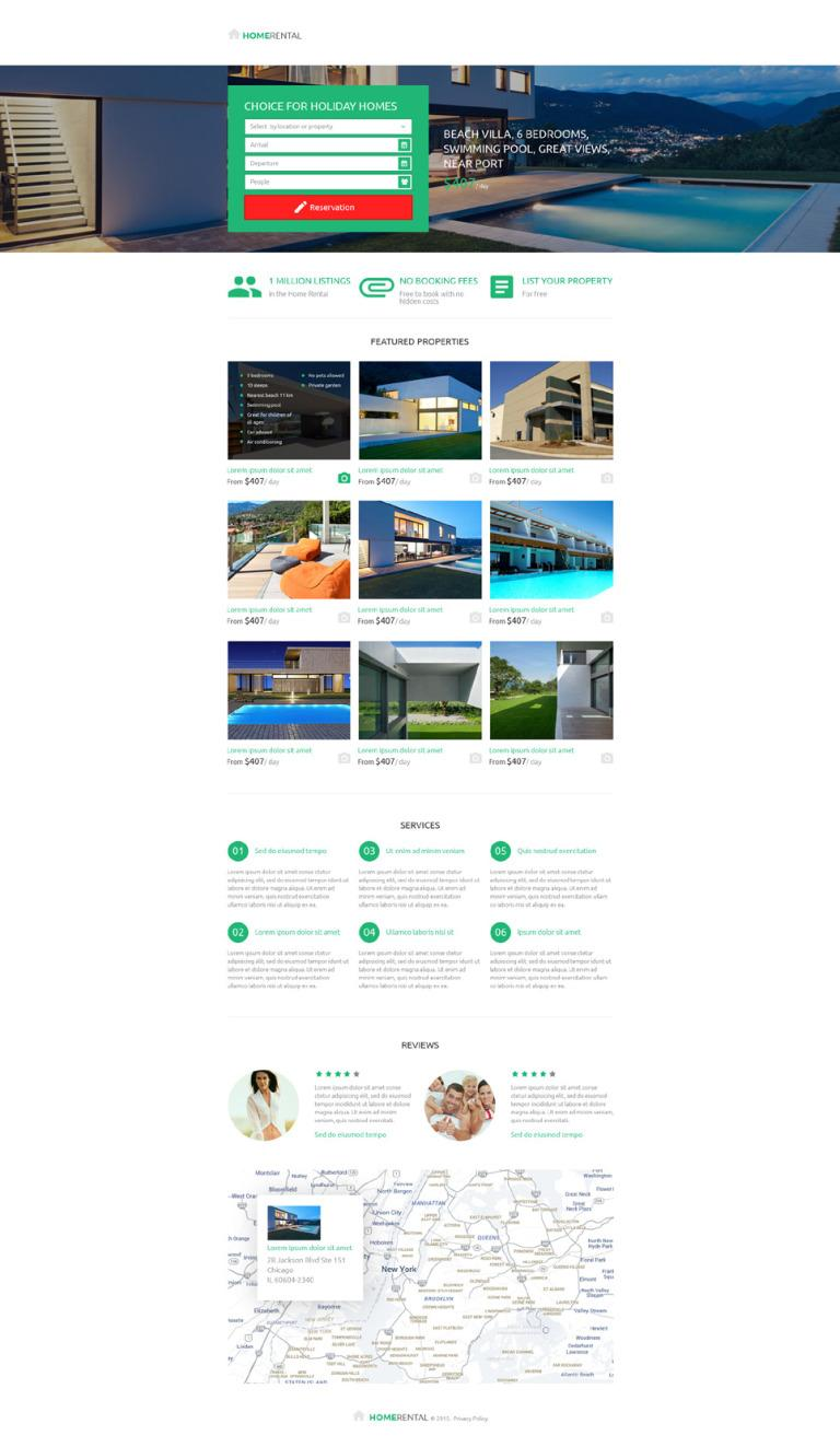 Free Responsive Html Real Estate Templates