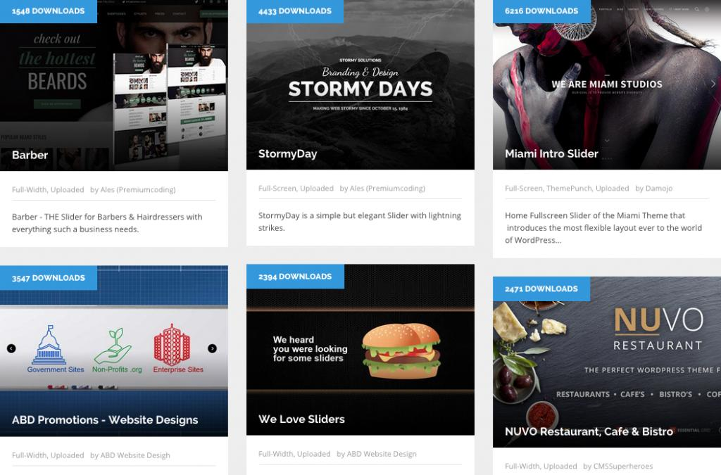 Free Responsive Html5 Templates With Slider Download