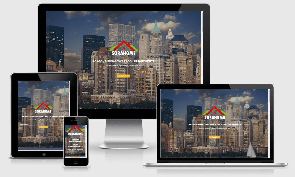 Free Responsive Real Estate Templates