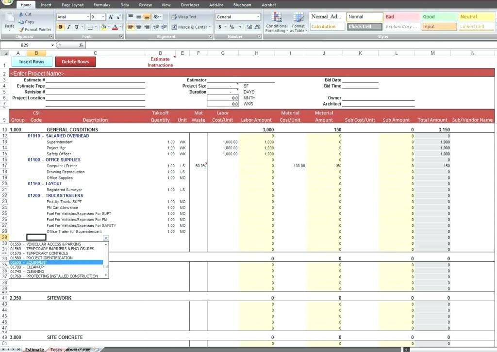 Free Restaurant Bookkeeping Templates
