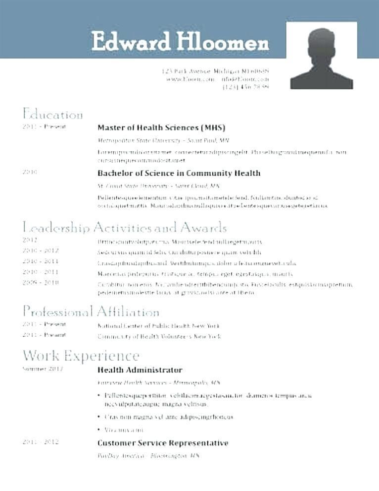 Free Resume Template Open Office Writer