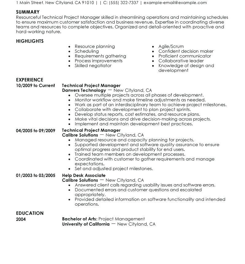 Free Resume Templates Executive Classic