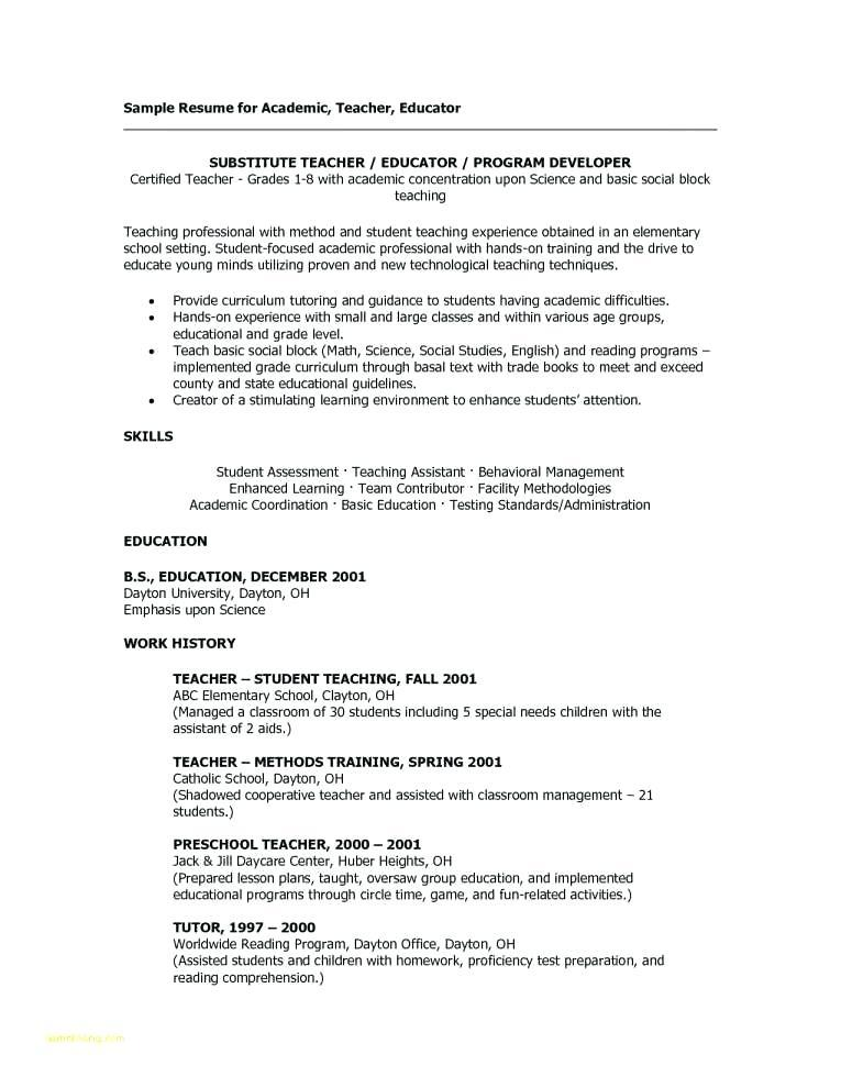 Free Resume Templates For Construction Industry