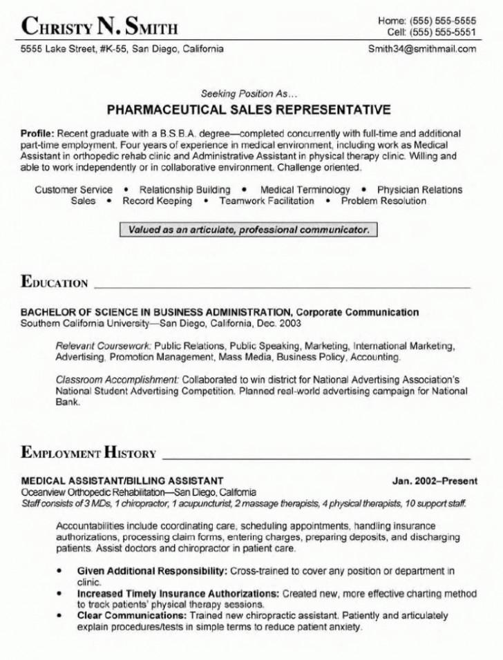 Free Resume Templates For Healthcare Administration