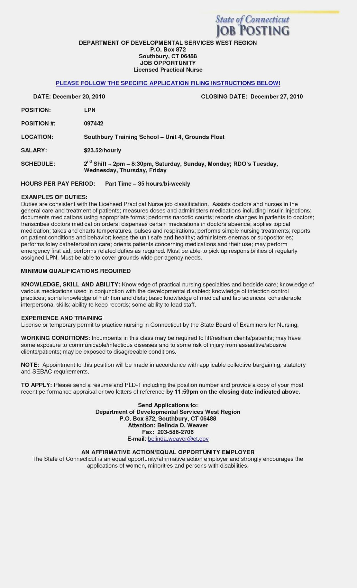Free Resume Templates For Lpn Nurses