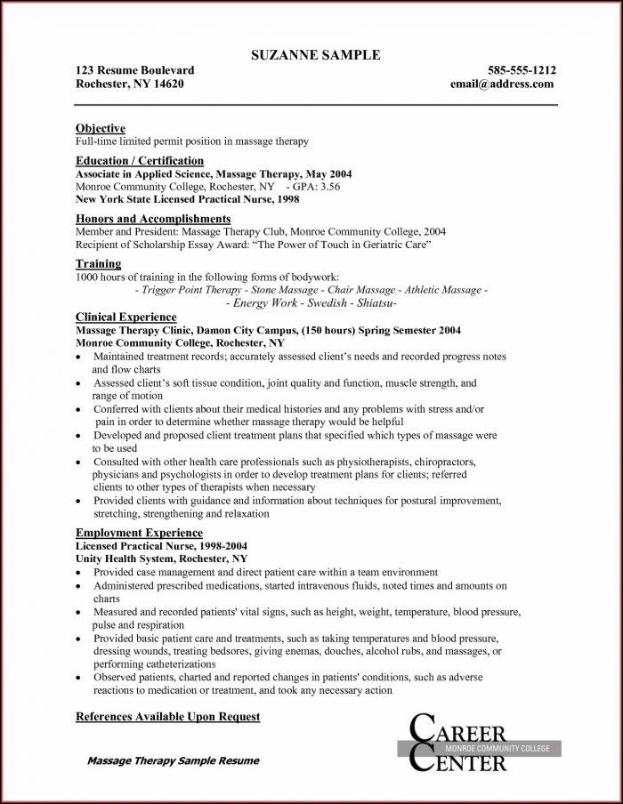 Free Resume Templates For New Graduate Nurses