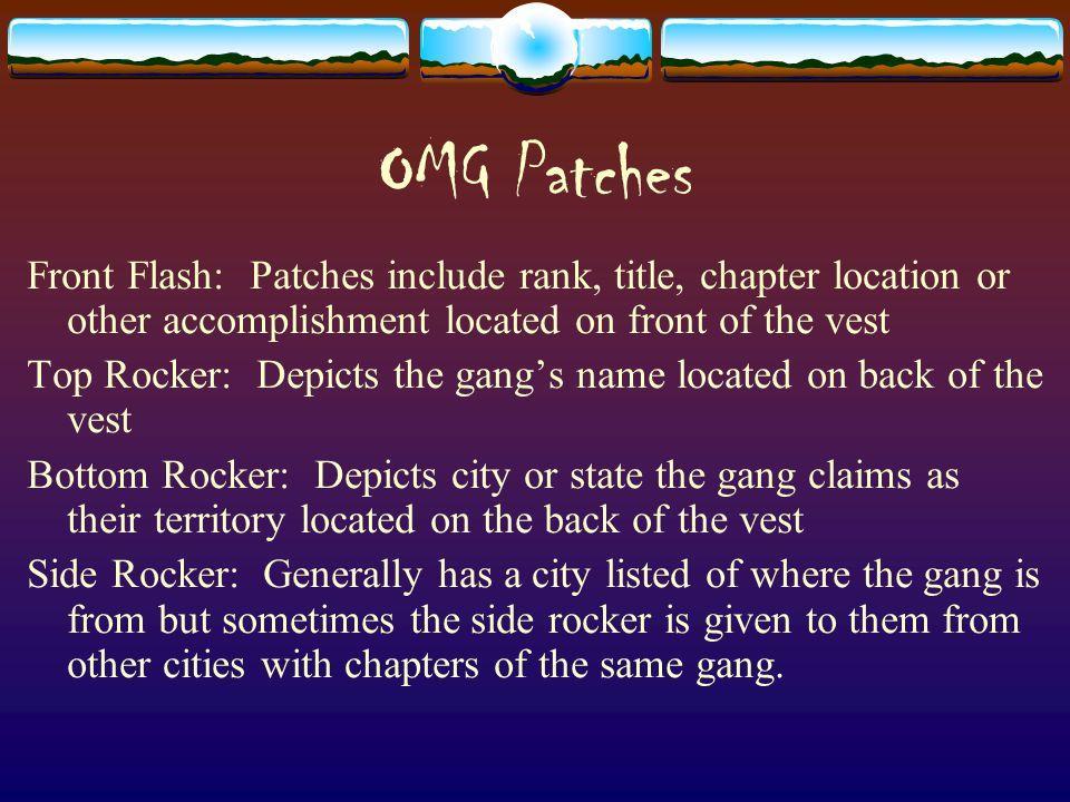 Free Rocker Patch Template