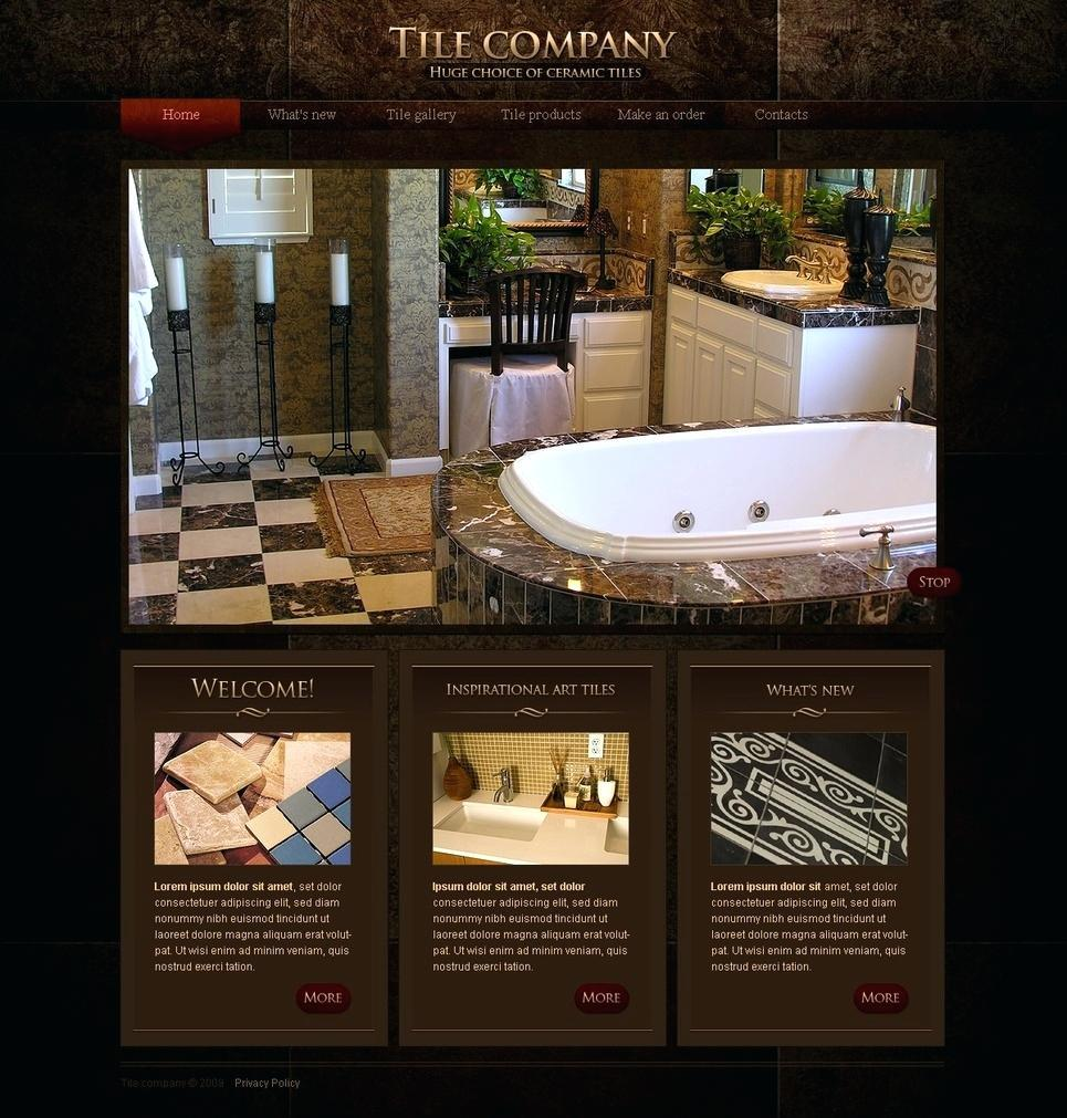 Free Roofing Company Website Template