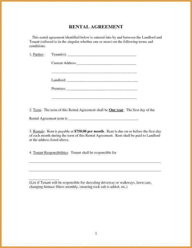 Free Salon Chair Rental Agreement Template