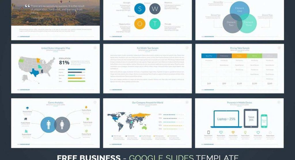 Free Sample Business Plan Powerpoint Template