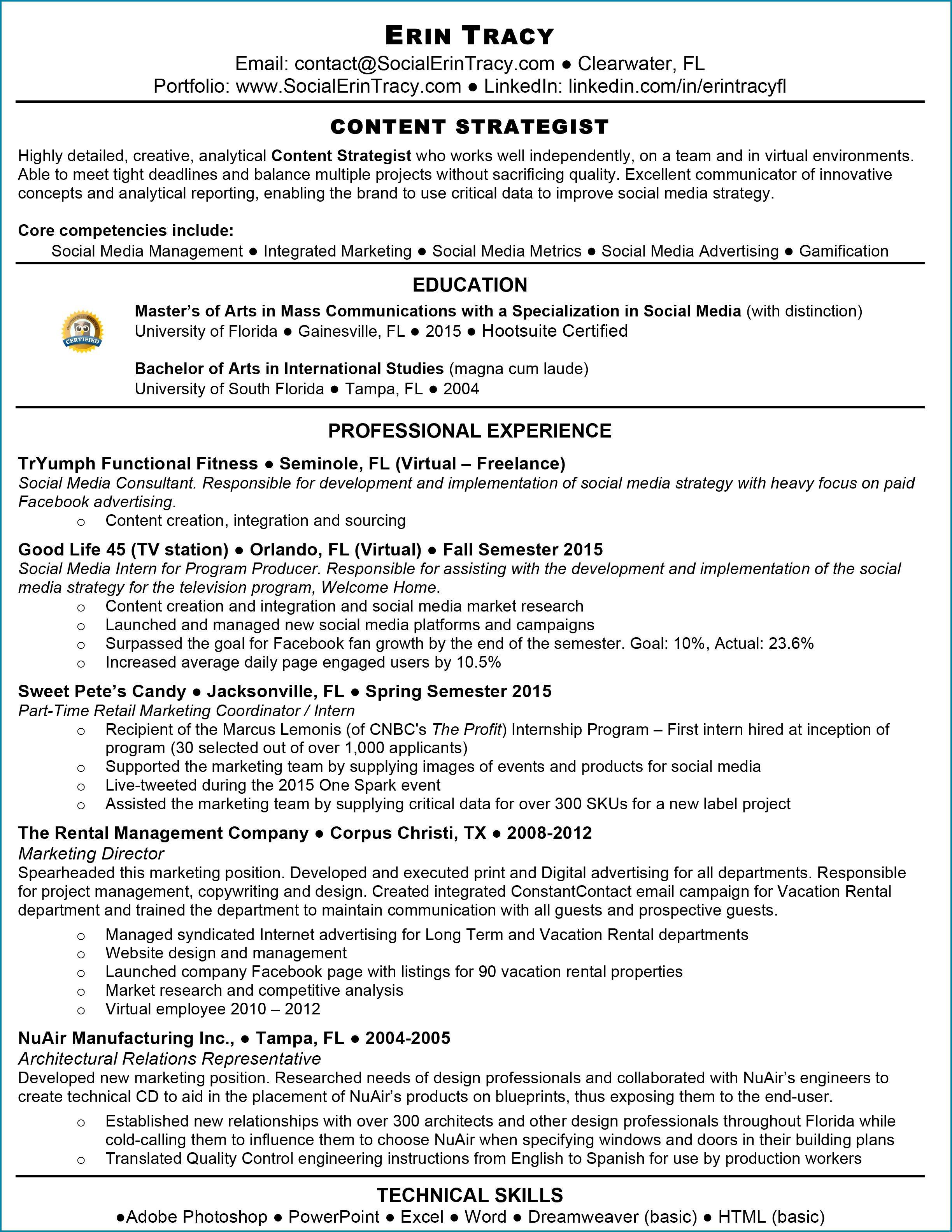 Free Sample Job Proposal Template
