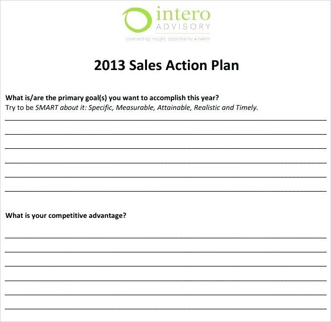 Free Sample Sales Strategy Plan