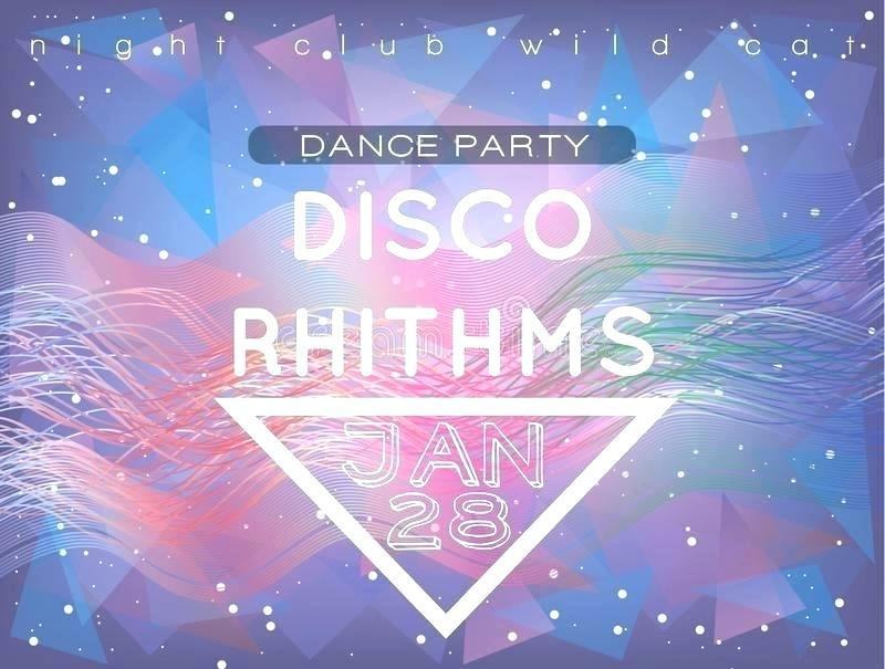 Free School Disco Flyer Templates