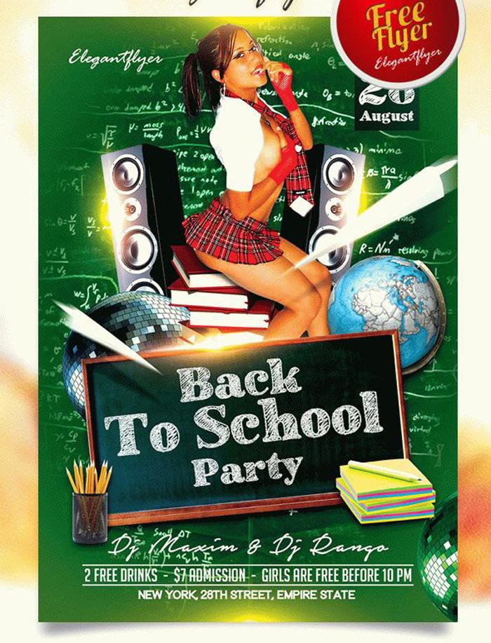 Free School Flyer Templates