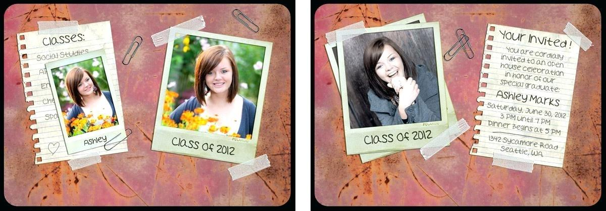 Free Senior Announcement Templates For Photographers