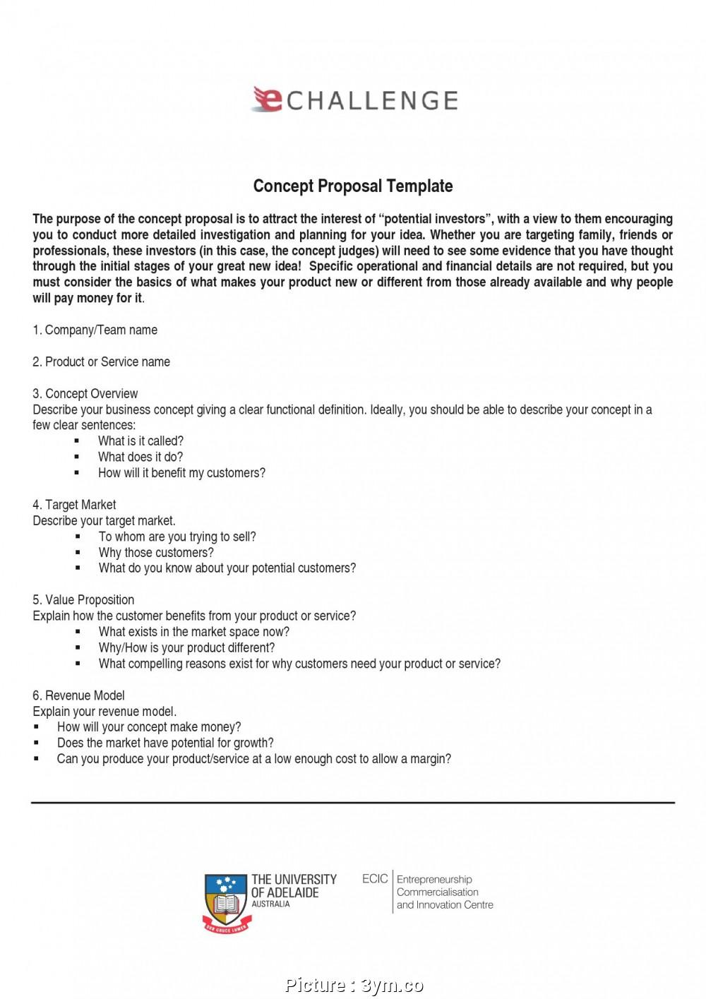 Free Service Proposal Template Word