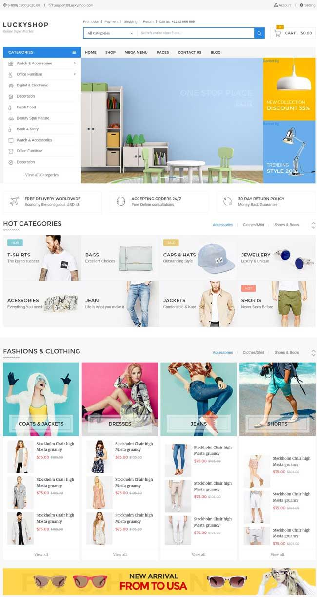 Free Shopping Cart Templates Html
