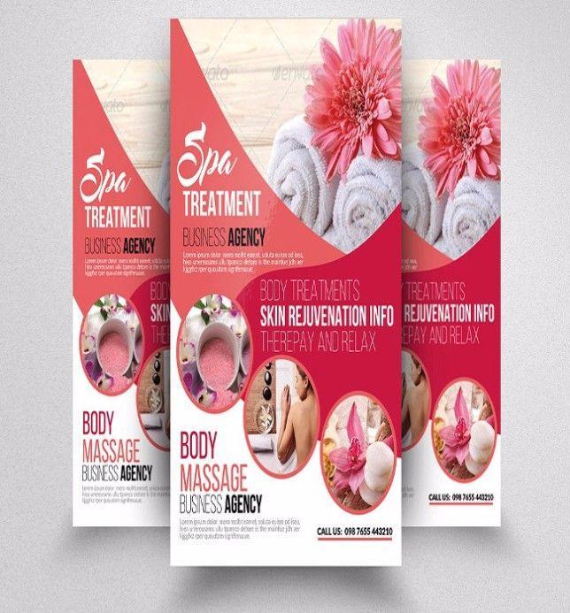 Free Spa Brochure Templates