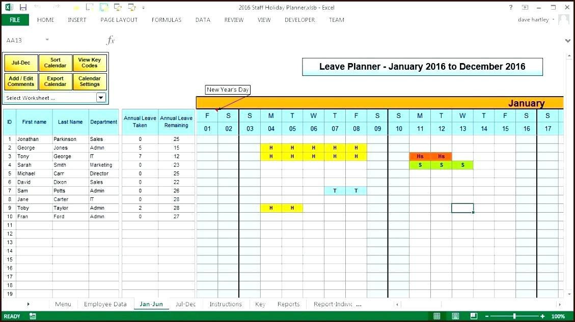 Free Staff Capacity Planning Template Excel