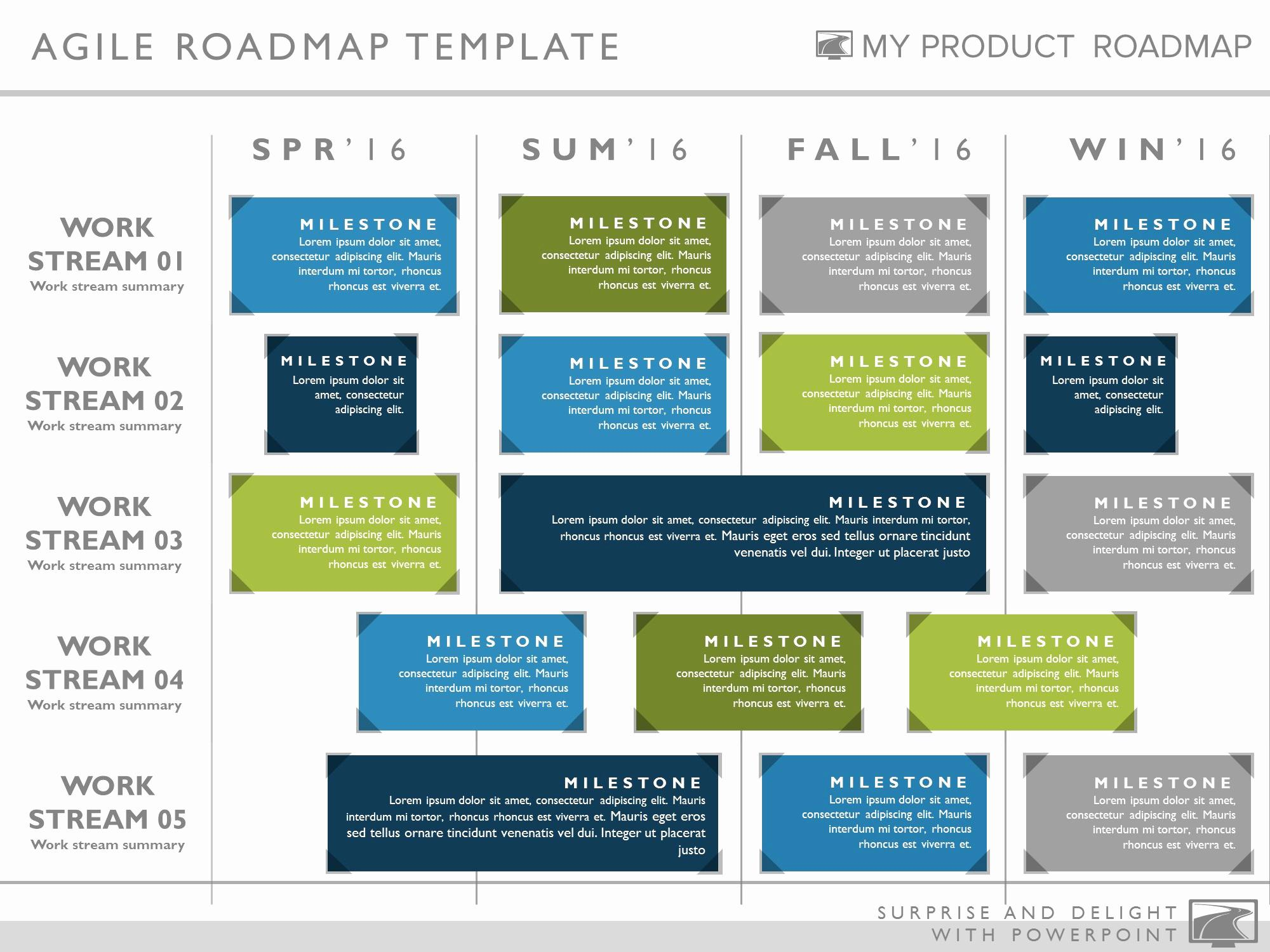 Free Strategy Roadmap Templates