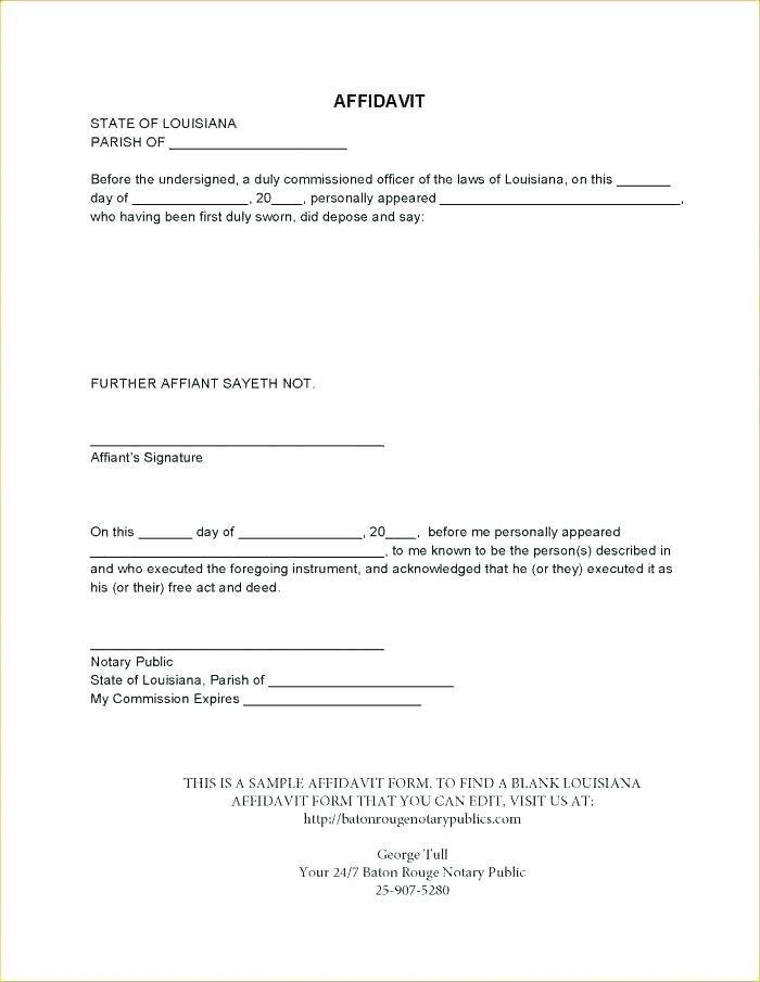 Free Sworn Construction Statement Form